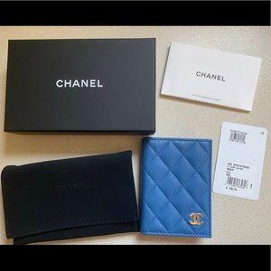 Chanel O Card Holder